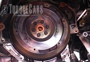Flywheel lightening and its impact on engine performance. Flywheel2