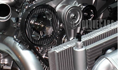 Electric water pumps for performance engines. Water-pump