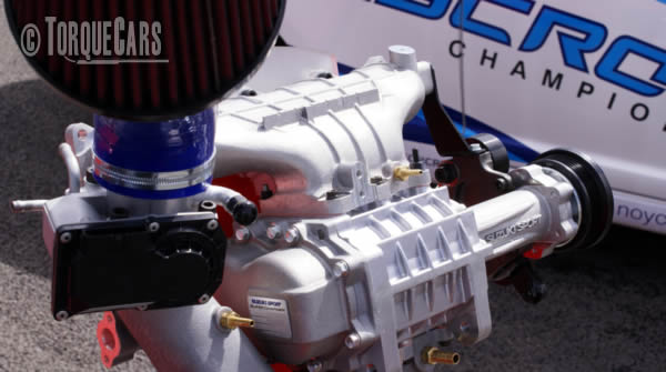 How to twincharge an engine